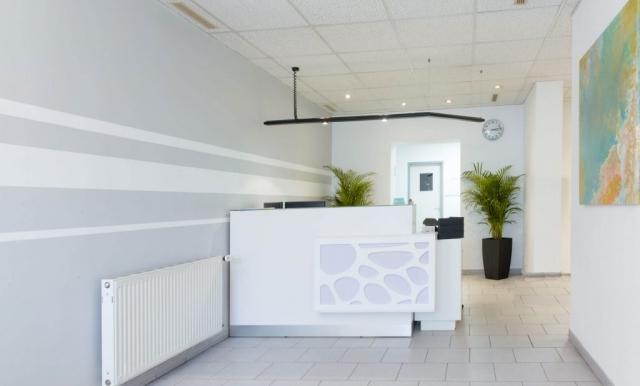 Zahnarztpraxis Dr. Talayeh Zadeh in Essen - Empfangsbereich / Anmeldung
